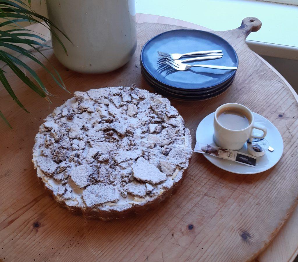taart – cheescake bosvruchten