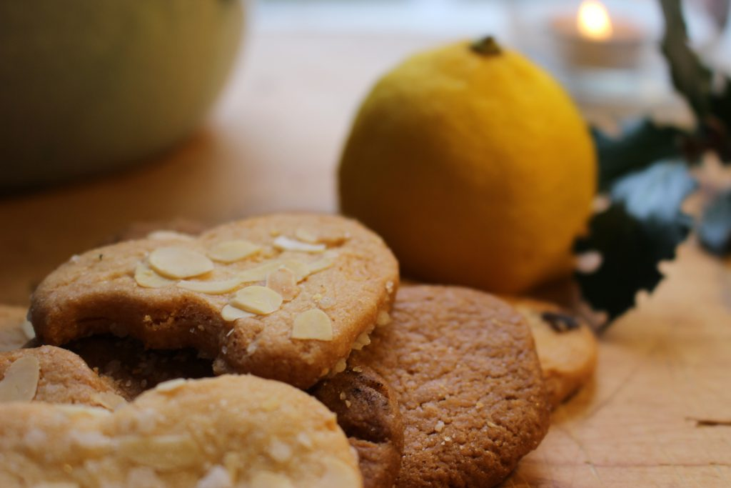 Koekjes citroen hartjes