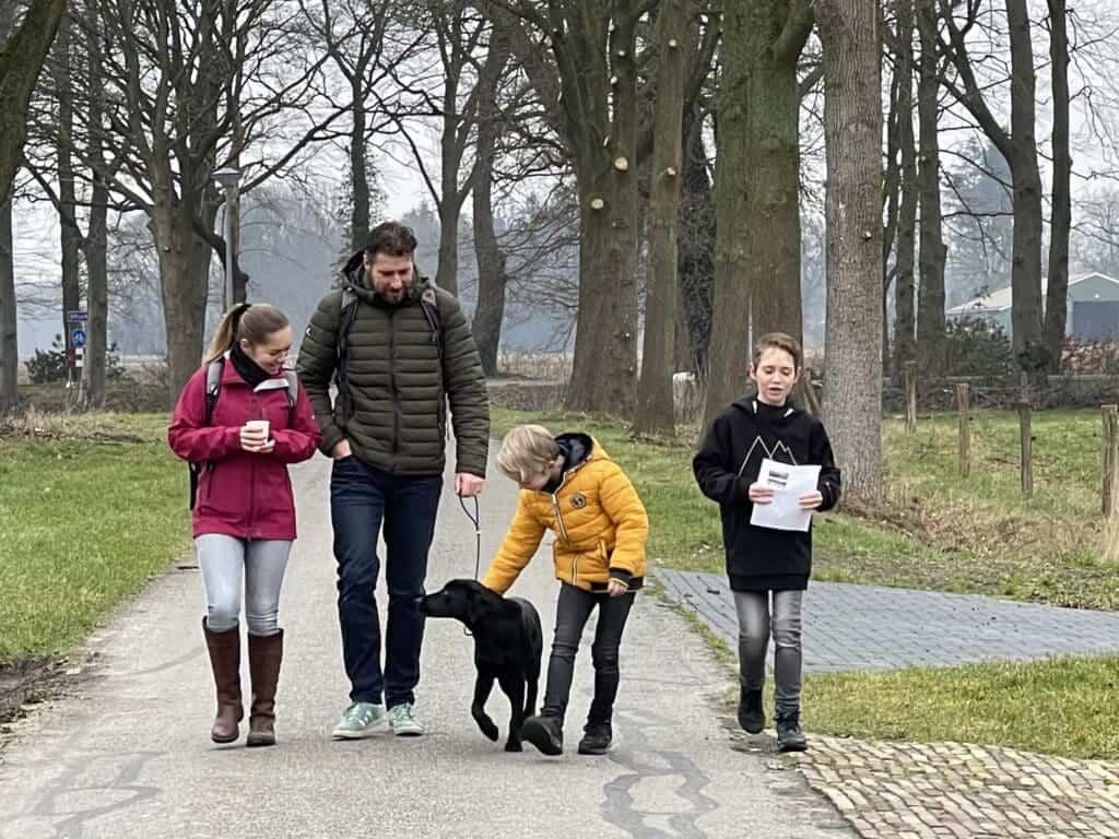 Familie-knapzak 2 volw & 1 kind